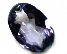 FREE SHIP NATURAL BEAUTIFUL TANZANITE 0.45 CT A786