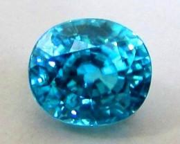 5.42ct VVS Finest Dazzling Luster Blue ZIRCON Rattanakiri