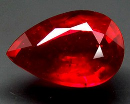 2.40 Carat VS2 Ruby, Pigeon Blood Color - Hand Held Gorgeous