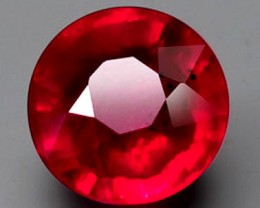 2.19 Carat VVS/VS Pinkish Red Ruby - Gorgeous Fiery Gemstone