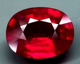 5.38 Carat VS Pigeon Blood Ruby - Gorgeous