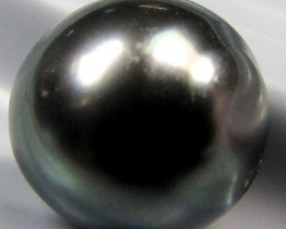 BLACK GRADED  TAHITIAN PEARL 5.65  CTS  RT 26