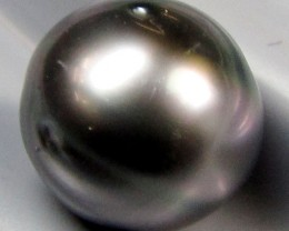 BLACK GRADED  TAHITIAN PEARL 5.65  CTS  RT 29