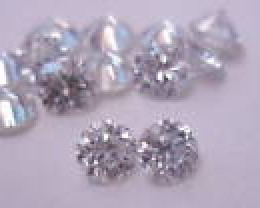 NATURAL WHITE DIAMOND-APP20PTSSIZE-2CTWLOT,NR