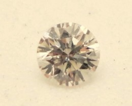 NAT-LIGHTPINK DIAMOND-4.6MMSIZE-0.35CTWSIZE-1PCS,NR