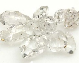 CRYSTAL QUARTZ-LIKE HERKIMER-DIAMOND (6PC) 8 CTS RG-2177