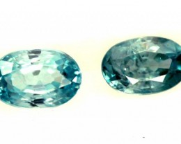 BLUE ZIRCON FACETED STONE 1.50 CTS  PG-1374