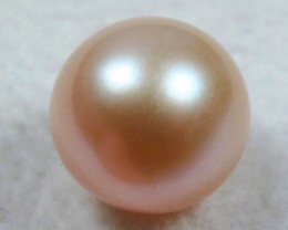 AAA GRADE ROUND PEARL  HIGH LUSTER- 9-10  MM [PF2274]