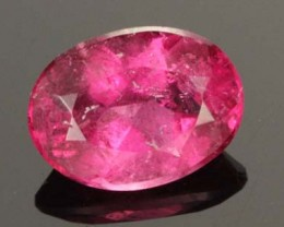 1.30 CTS TOP RUBELLITE FROM 'CRUZEIRO MINE'  [S7095]
