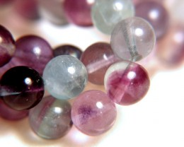 323.5 Carat Flourite Strand - Gorgeous - 9.8mm 15.5 inches