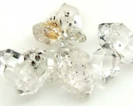 CRYSTAL QUARTZ-LIKE HERKIMER-DIAMOND (4PC) 4 CTS RG-1271
