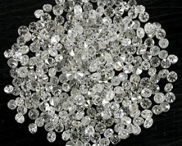 NATURAL WHITE DIAMONDS-1MM-1.5MM SIZE-50CTWLOT,LOWESTDEAL