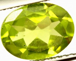 PERIDOT FACETED STONE 1.80 CTS PG-963