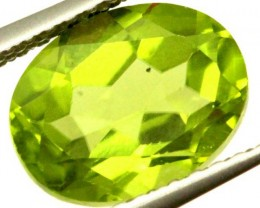 PERIDOT FACETED STONE 2.25 CTS  PG-1014