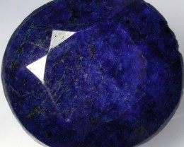 CERTIFIED SAPPHIRE CHUNKY FACETED STONE  234.38CTS CERT8