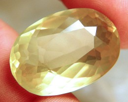 48.99 Carat Lemon Quartz 32mm by 22 - Beautiful Gem