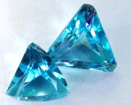 3.35 CTS SWISS BLUE TOPAZ FANCY CUT  CG-2103