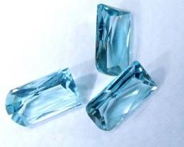 SWISS BLUE TOPAZ FANCY CUT 1.64 CTS CG-2104
