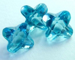 4 CTS SWISS BLUE TOPAZ FANCY CUT CG-2105