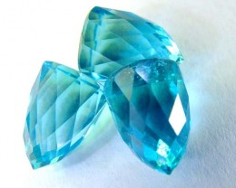 SWISS BLUE TOPAZ FANCY CUT 8.62 CTS AS-A4096