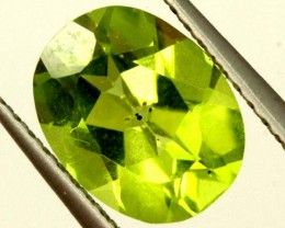 PERIDOT FACETED STONE 1.75 CTS  PG-1018