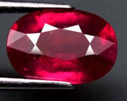 3.40 Ct. Pigeon Blood Ruby, VS2 Clarity, Fiery and Gorgeous