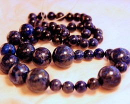 972 Tcw. Lapis Lazuli Strand - 26 inches - 10mm to 20mm