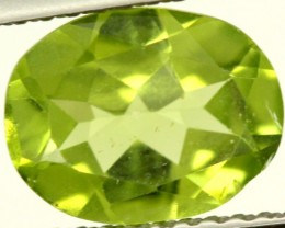 PERIDOT FACETED STONE 1.80 CTS PG-856