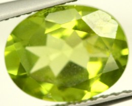 PERIDOT FACETED STONE 1.85 CTS PG-854