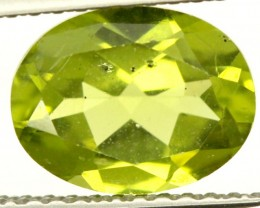 PERIDOT FACETED STONE 1.90 CTS PG-855