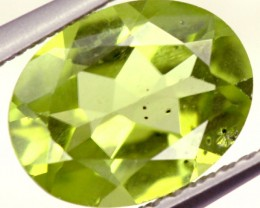 PERIDOT FACETED STONE 1.80 CTS PG-851