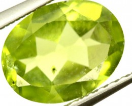 PERIDOT FACETED STONE 1.70 CTS PG-868