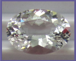 SCINTILLATING - 3.38CT  OVAL PORTUGUESE CUT DANBURITE!!