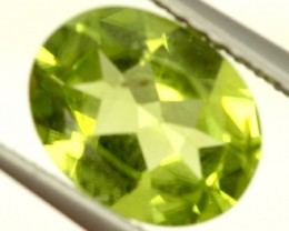 PERIDOT FACETED STONE 1.65 CTS PG-865