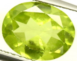 PERIDOT FACETED STONE 1.90 CTS PG-863
