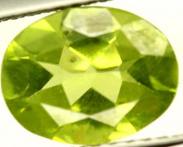 PERIDOT FACETED STONE 1.65 CTS PG-864