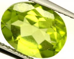 PERIDOT FACETED STONE 2 CTS PG-867