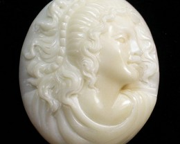37.70 CTS IVORY FROM PALM  QUALITY  CARVING [MGW425]4