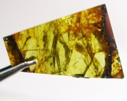 8.10 CTS RARE  PALLASITE METEORITE FROM CHINA [S6357 ]