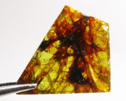 7.00 CTS RARE  PALLASITE METEORITE FROM CHINA [S6360 ]