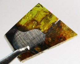 5.15 CTS RARE  PALLASITE METEORITE FROM CHINA [S6362 ]