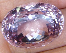 VVS1 PINK KUNZITE UNTREATED  COLLECTOR PC 41  CTS  AF-2