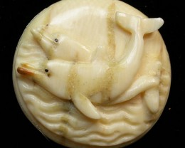 23.60 CTS MAMMOTH  FOSSIL IVORY CARVINGS [MGW460]