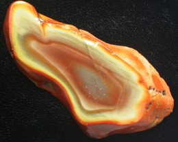 65.90 CTS IMPERIAL JASPER  SLICE FROM MEXICO [F3459]