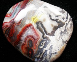76.50 CTS TOP GRADE CRAZY AGATE POLISHED  STONE    [MGW499]