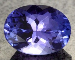 1.55 CTS AA+ TANZANITE STONE - WELL CUT  [S6380]