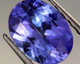1.40 CTS AA+ TANZANITE STONE - WELL CUT  [S6381]