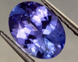 1.10 CTS AA+ TANZANITE STONE - WELL CUT  [S385]