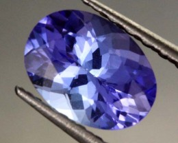 1.05 CTS AA+ TANZANITE STONE - WELL CUT  [S6372]