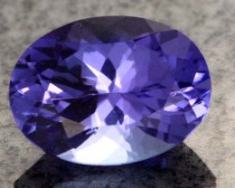 1.25 CTS AA+ TANZANITE STONE - WELL CUT  [S6378]